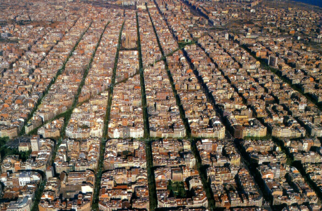 Barcelona eixample